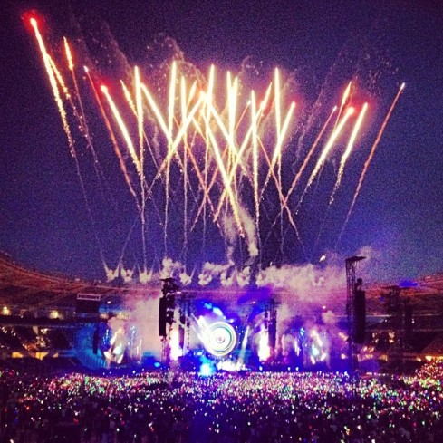 Coldplay, live in Turin 2012